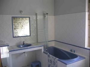 La salle de bains #1 - Le gîte Les Chaises Longues